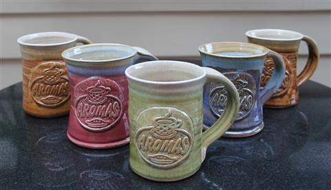 Aromas Ceramic Mugs