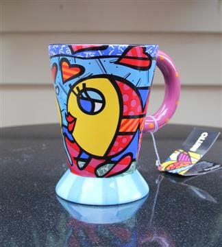 Name: Britto Footed Mug Fish 1 Description:  Group: Product Images