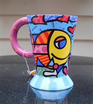 Name: Britto Footed Mug Fish 2