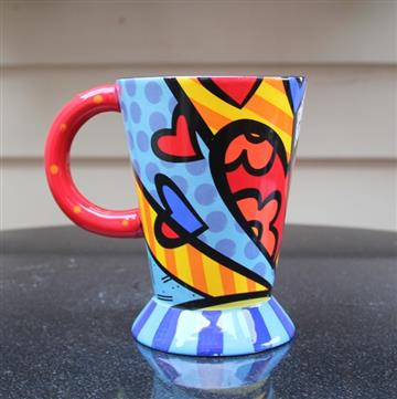 Britto Footed Hearts 2