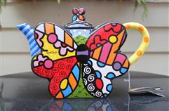 Large Butterfly Teapot