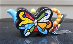 Britto Small Teapot Butterfly
