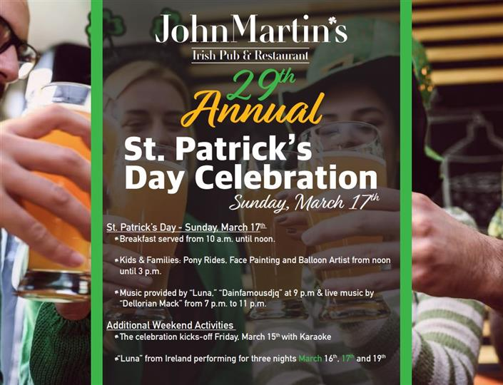 St Patricks Flyer 2019
