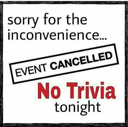 Cancelled Trivia