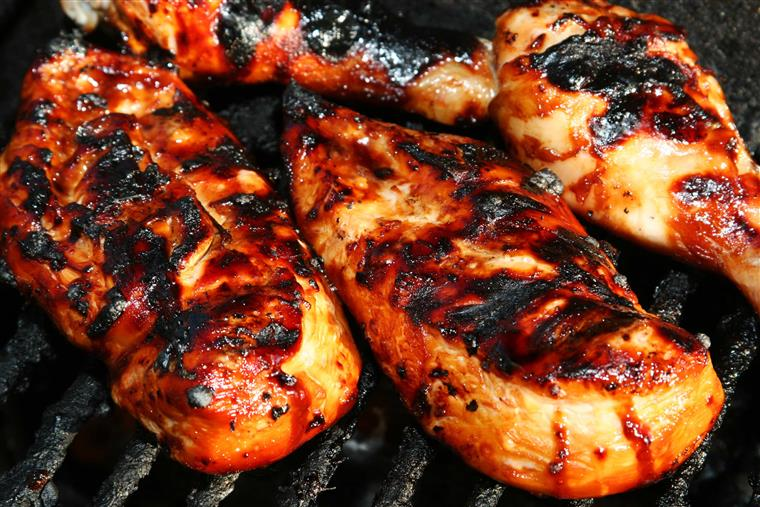 marinated bbq chicken