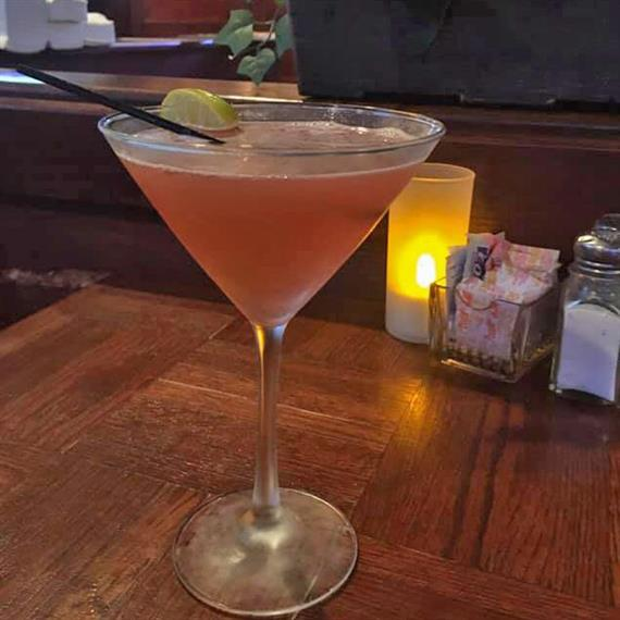 A cosmo cocktail