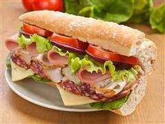 ---- Oven Baked Hoagies (large)