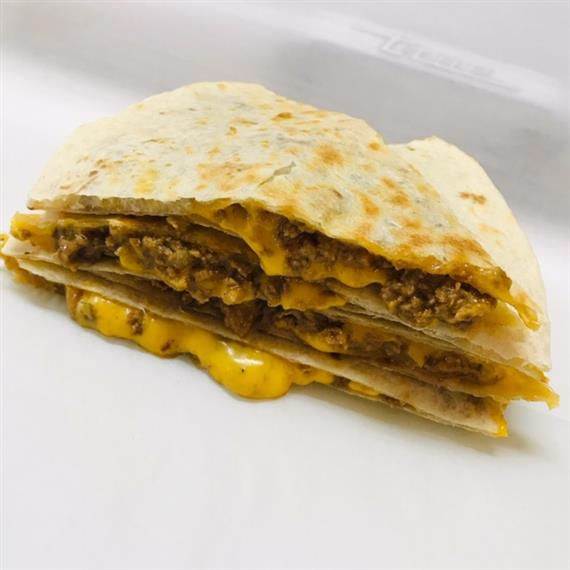 Our Burger-dilla hits the spot