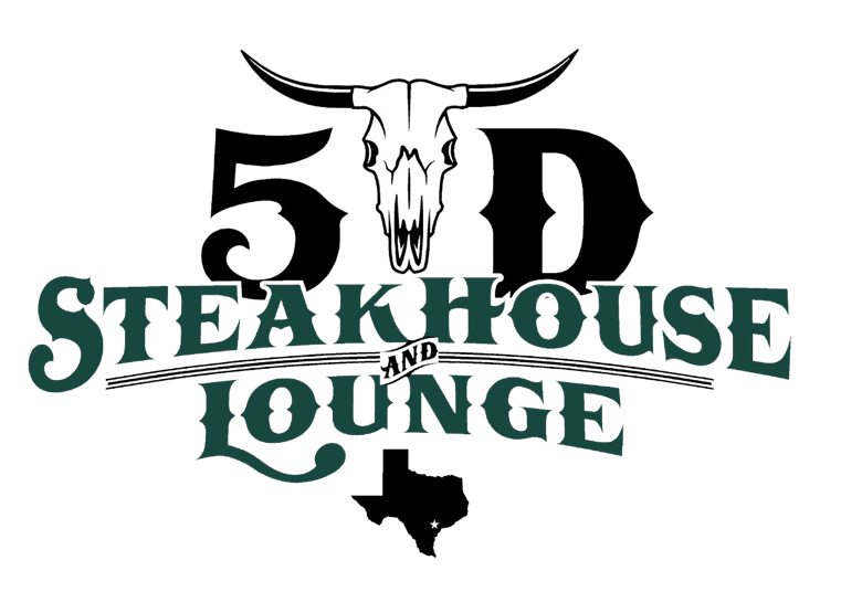 5D Steakhouse and Lounge logo