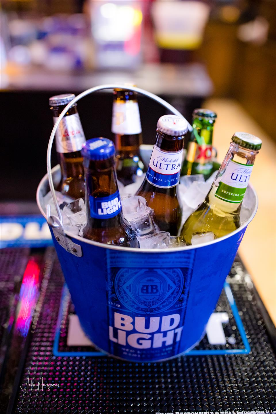 Bucket of mixed beers