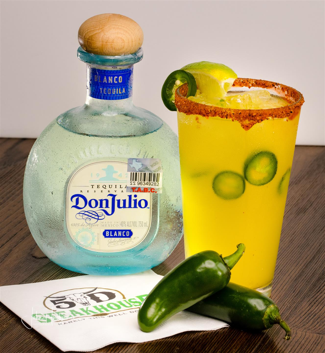 spicy margarita with Don julio