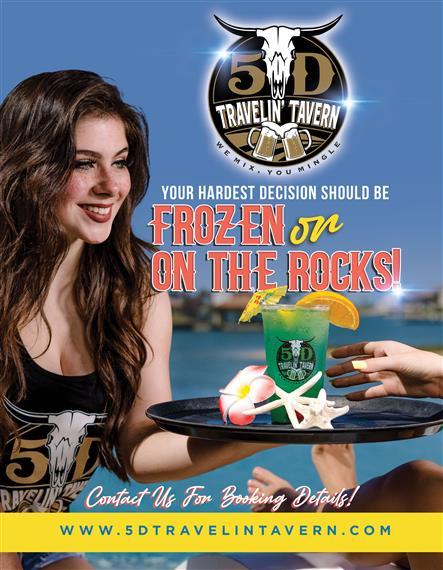 5D Travelin Tavern Frozen or on the Rocks