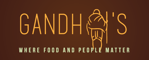 gandhi's where food and people matter