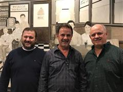 john, tommy and louie tiglias