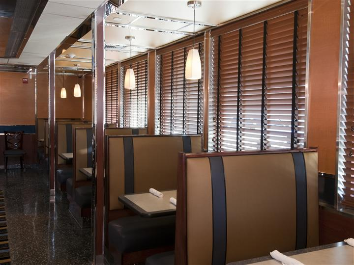 indoor view of diner