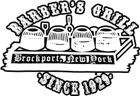 Barber's Grill. Brockport, New York. Since 1929.