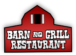 Barn and grill restaurant.