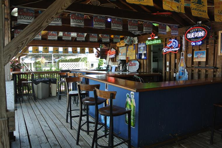 view of outside bar