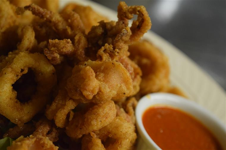 Fried Calamari with Marinare Sauce