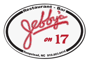 Jebby's on 17 Restaurant & Bar. Hampstead, North Carolina. 910-803-0414