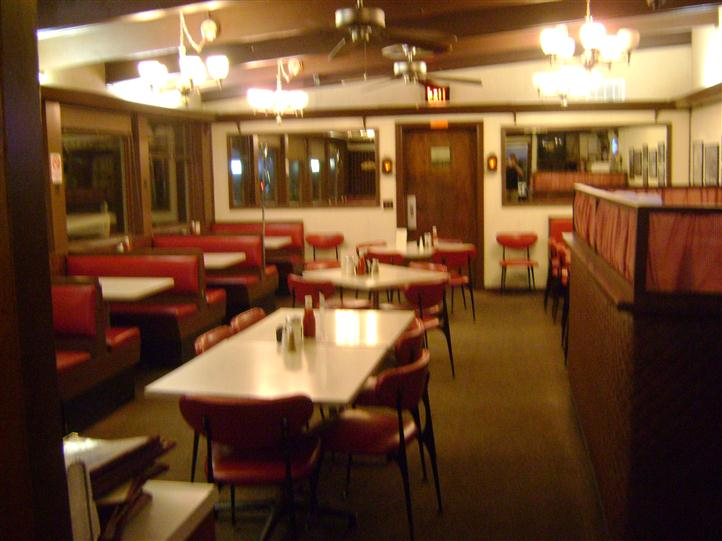 Dining area of Skylark
