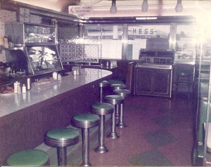 Vintage photo of Skylark with bar stool
