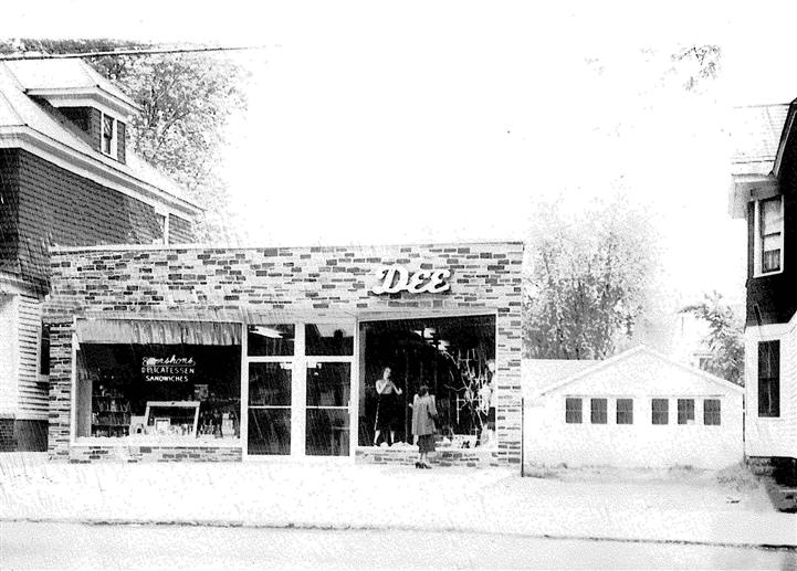 vintage photo of original location 1954