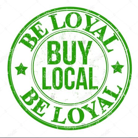 be loyal buy local be loyal