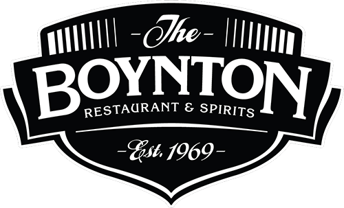 The Boynton Restaurant & Spirits. Established 1969