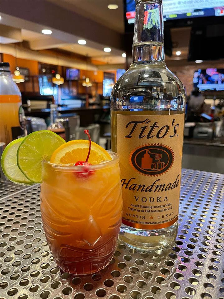 Titos Christmas Punch