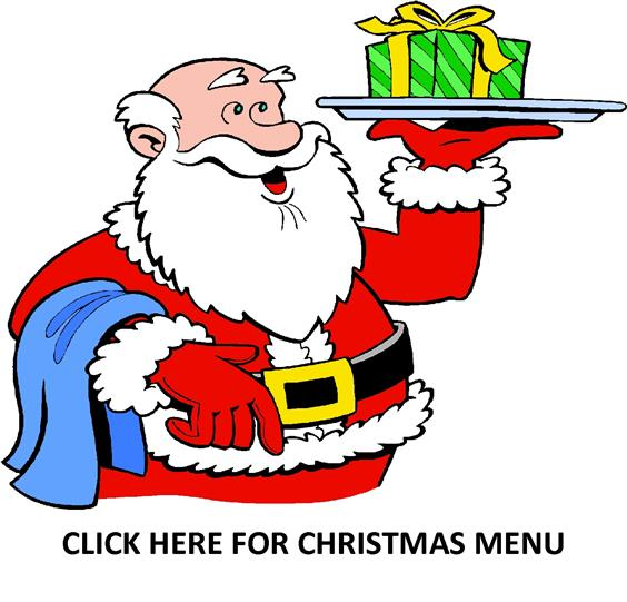 Santa click for christmas menu