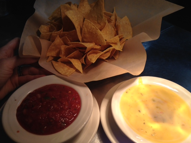 Chips and Housemade Salsa and or Queso