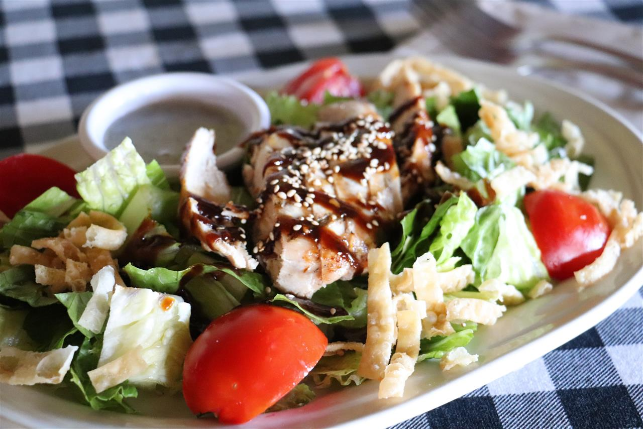 Asian BBQ Chicken Salad