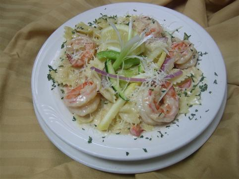 Shrimp, Avocado & Prosciutto Pasta