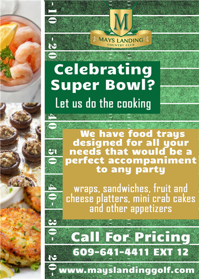 Super Bowl Catering