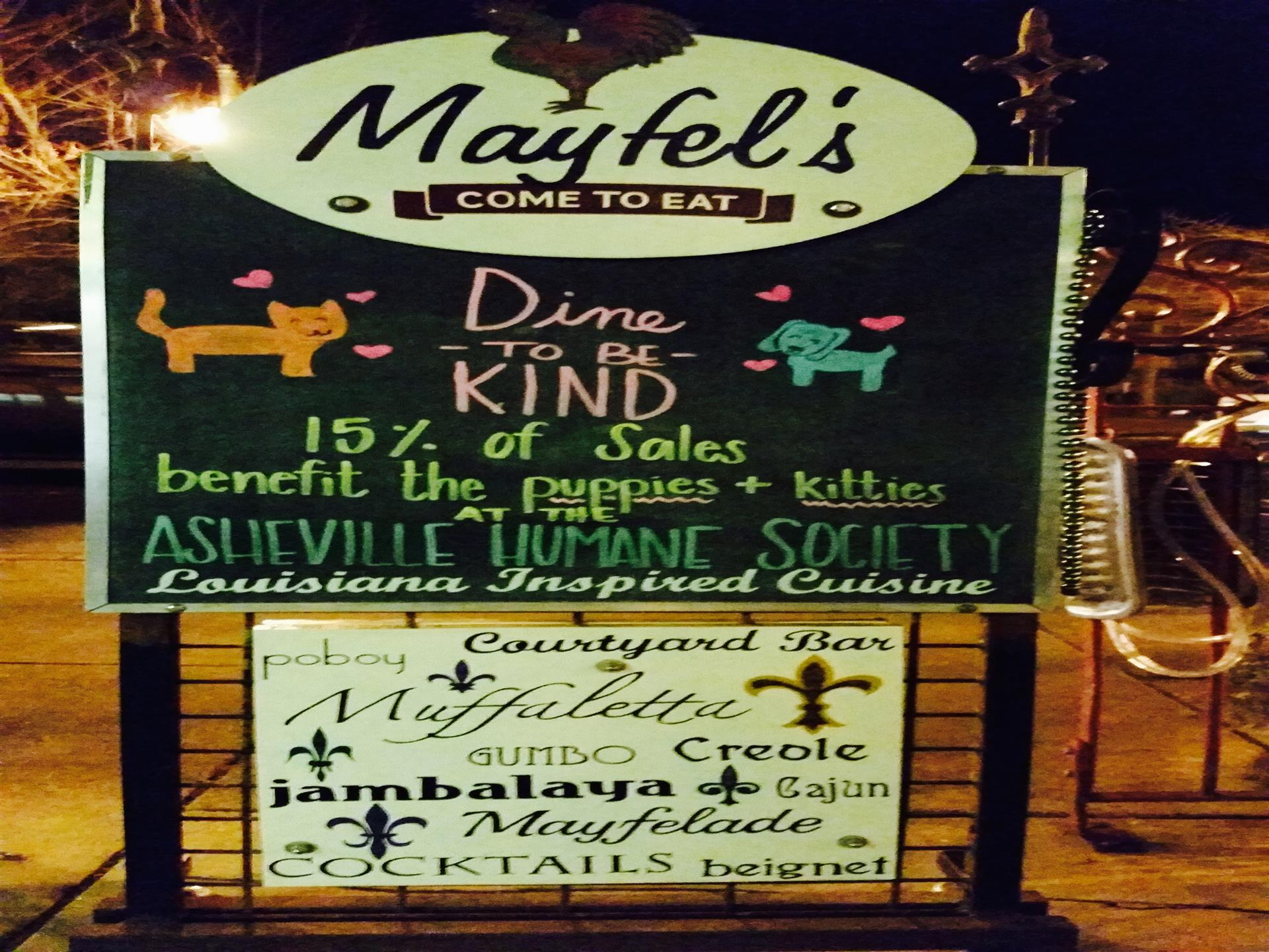 mayfel's sign