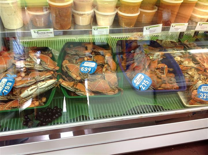 whole crabs for sale