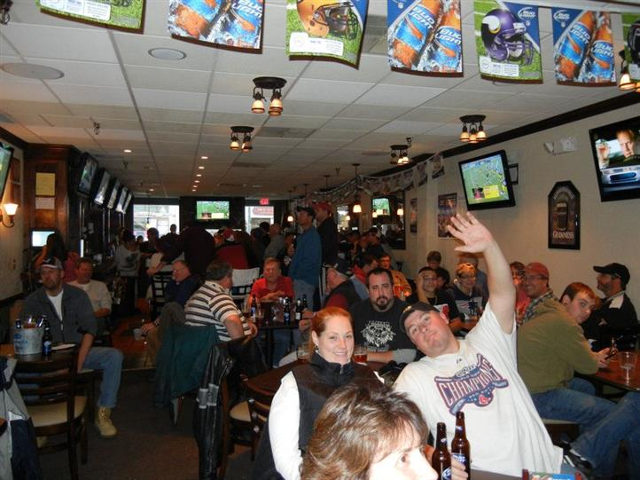 O' Brien's Sport Bar full of people during the day time
