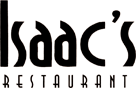 Black and white logo with name of restaurant only