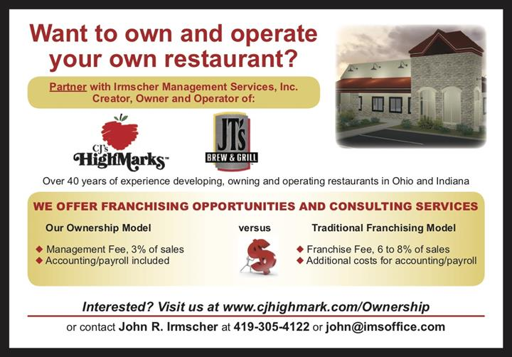 information on owning or operating a restaurant