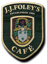 J.J. Foley's Cafe. Established 1909