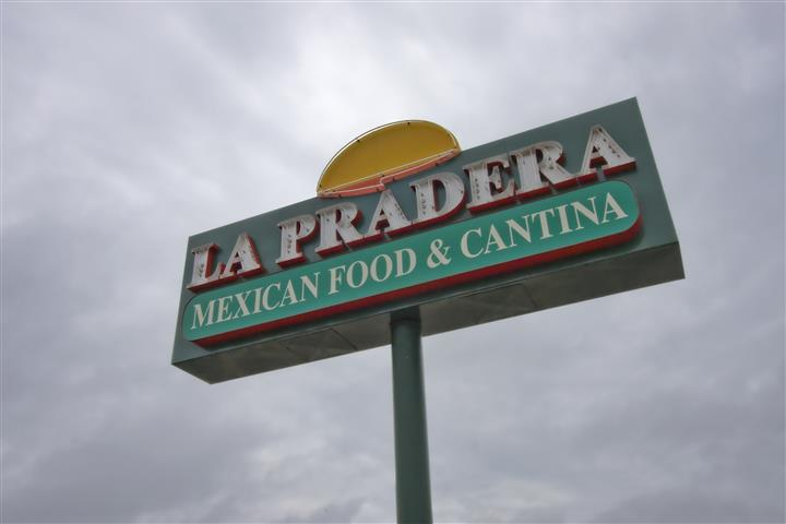 Outside of La Pradera