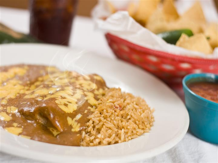Cheese Enchiladas w/chili