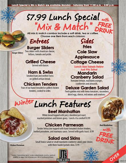 JT's Winter Features for Greenville location - page 2