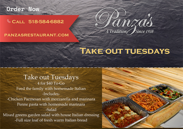 Take out Tuesdays