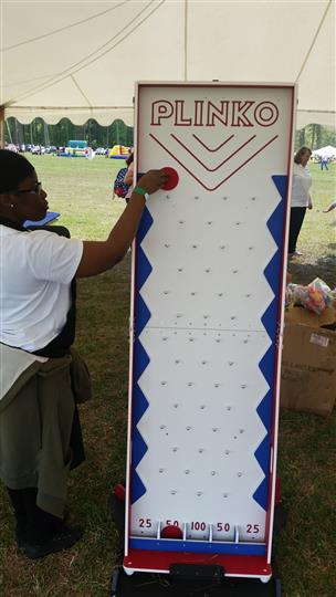 a game of plinko