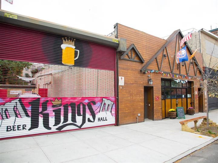 Exterior of Kings Beer Hall