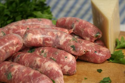 Name: Thick Cheese & Parsley Sausage