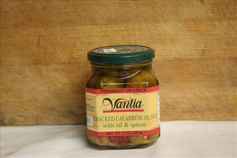 Vantia Cracked Calabrese Olives