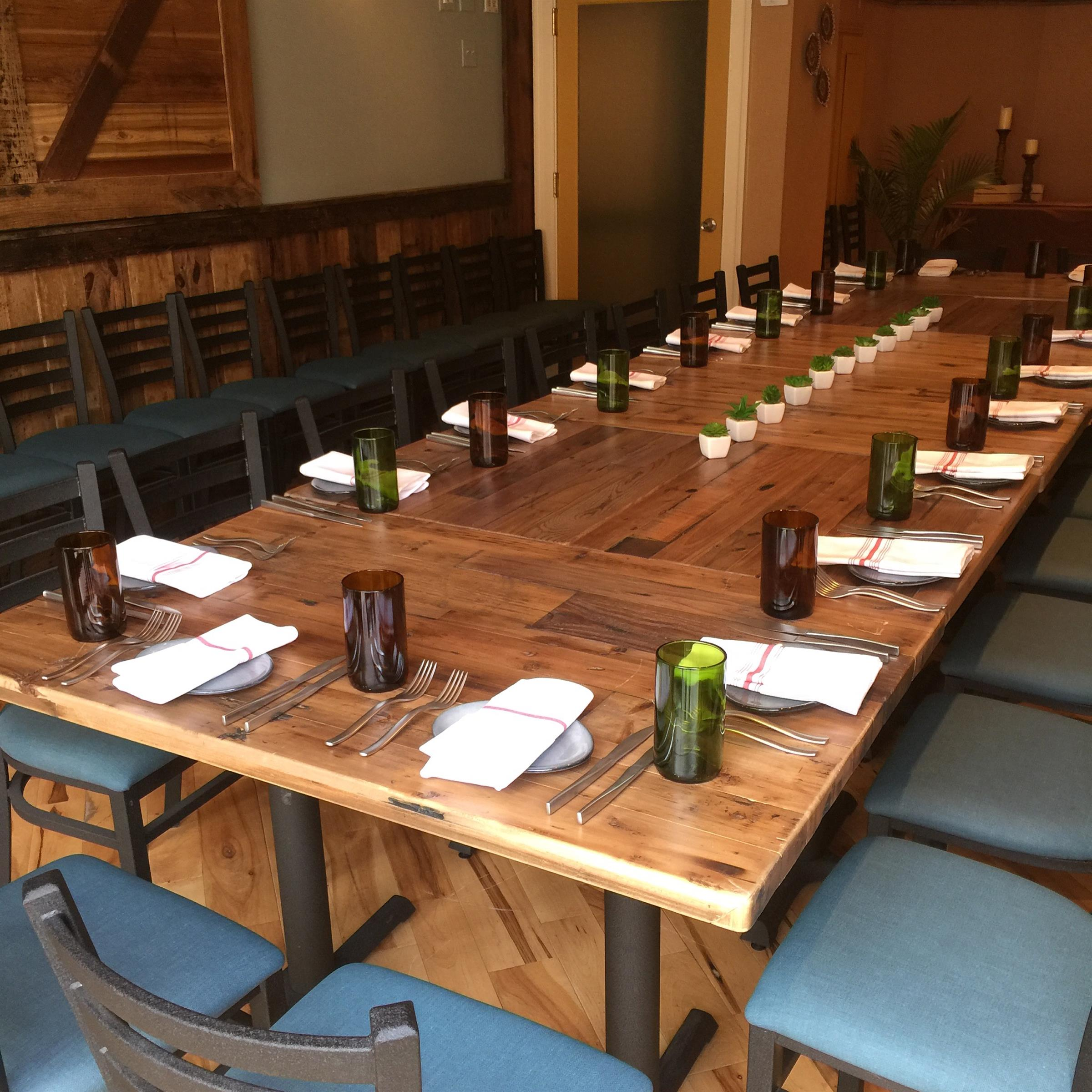 Points south latin kitchen private dining for Best private dining rooms in baltimore